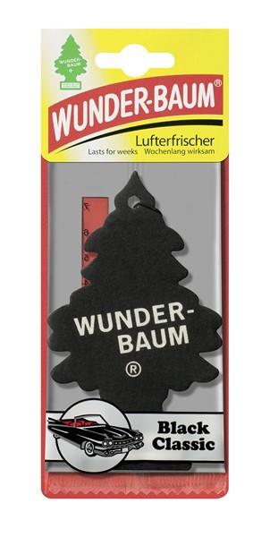 Wunderbaum Black Classic vonný stromeček 5g 1ks