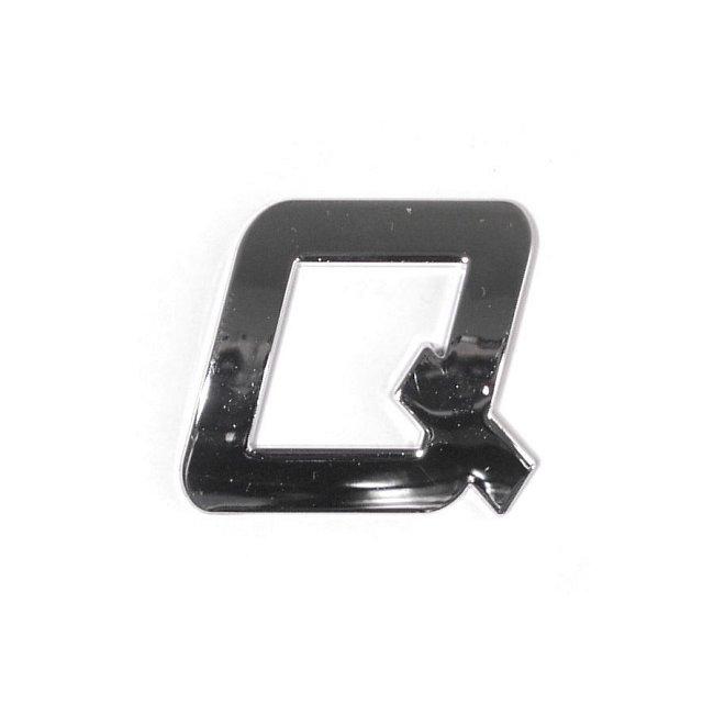 COMPASS Znak / car logo písmeno Q PLASTIC