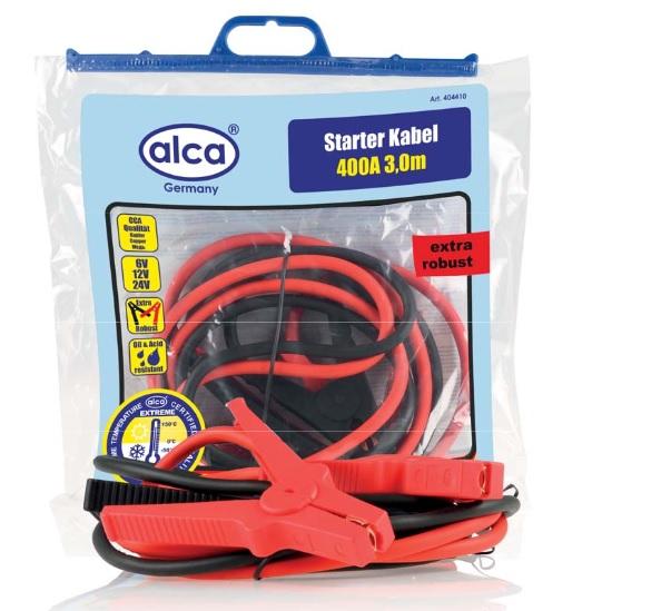 Alca Startovací kabely 400A, 3m, 404410