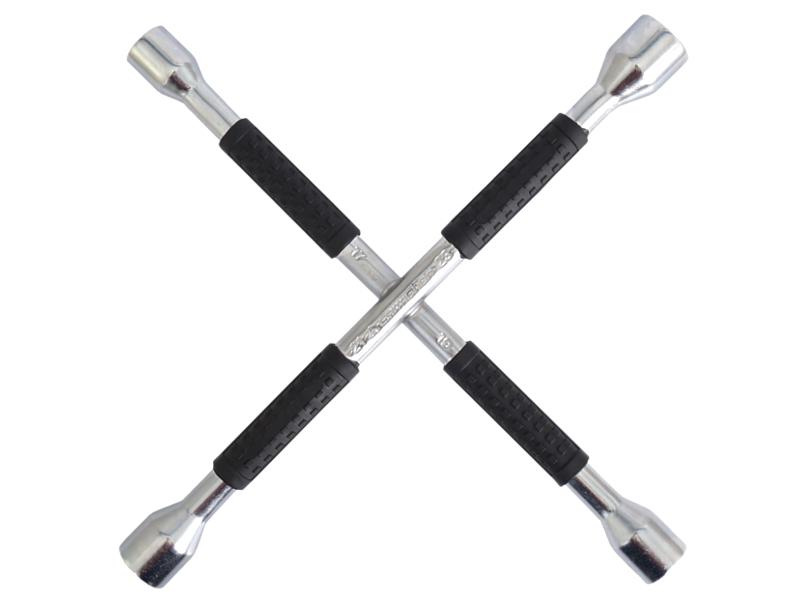 Klíč na kola křížový 16x350mm, 17-19-21-23mm, 58040