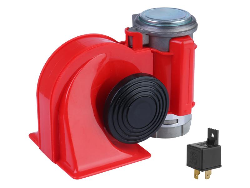 Klakson červený NAUTILUS 24V s kompresorem 58102