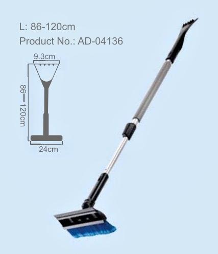 Smetáček se stěrkou a škrabkou teleskopický 86-120cm, 5921