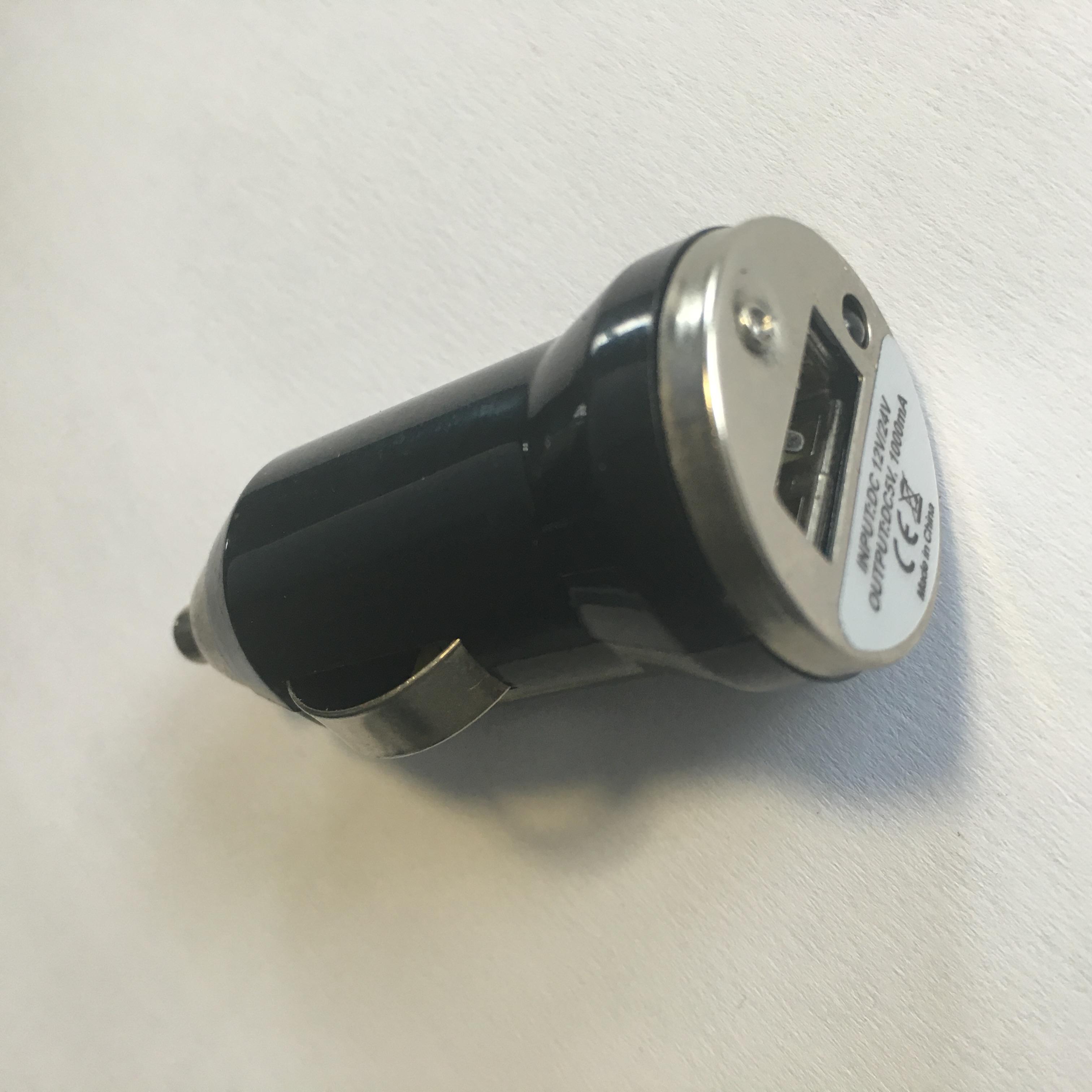 Zástrčka s 1x USB výstupem, 12/24V, 1000 mA, SPL-102