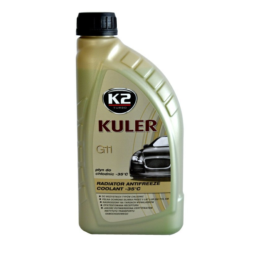 K2 KULER G11 MODRÁ 1 l - nemrznoucí kapalina do chladiče do -35 °C, T201N