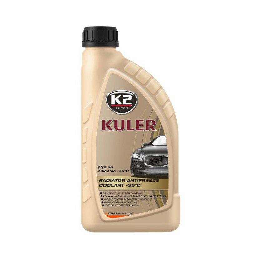 K2 KULER G13 ORANŽOVÁ 1 l - nemrznoucí kapalina do chladiče do -35 °C, T201P