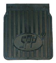 Zástěrky k vozíku gumové, 1 ks, 19x22,5cm OPB-01