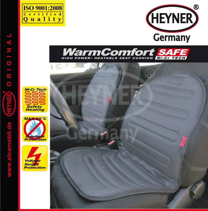 Vyhřívaný potah sedadla HEYNER WarmComfort PRO šedý