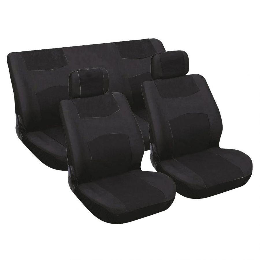 Potahy sedadel, zadní sedadla vcelku, 2 opěrky, 0310051