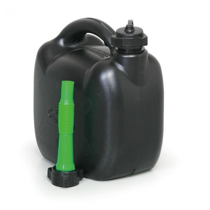 Kanystr plastový PHM 5l PLASTIK Slovinsko, černý