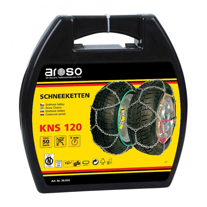 Sněhové řetězy X120 AROSO GERMANY 12, NORMA PRO RAKOUSKO