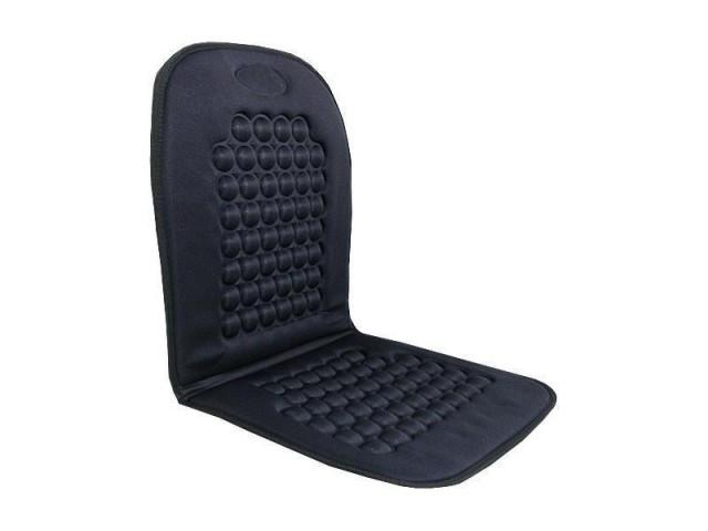 Univerzální potah sedadla s magnety černý, 61415