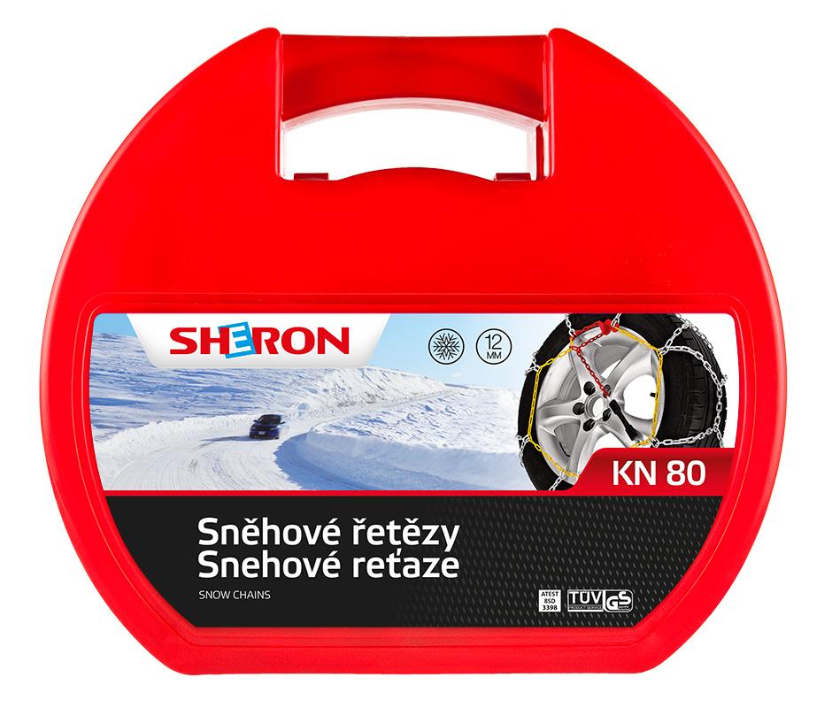 Sněhové řetězy SHERON KN 80 12mm
