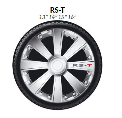 4Racing RST Silver 13""